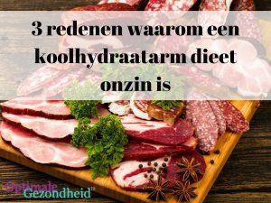 dieet met koolhydraten