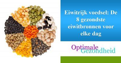 De 8 gezondste eiwitbronnen voor elke dag