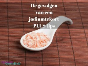 jodiumtekort plus tips