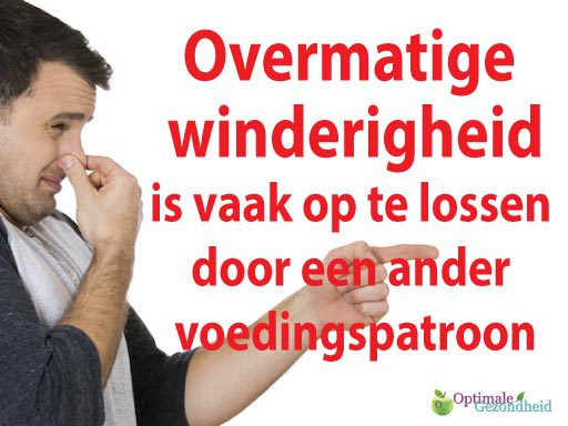 overmatige winderigheid