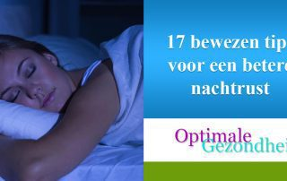 17 bewezen tips voor een betere nachtrust