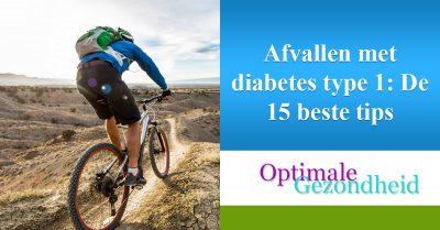 Afvallen met diabetes type 1