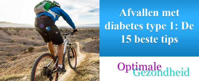 Afvallen met diabetes type 1