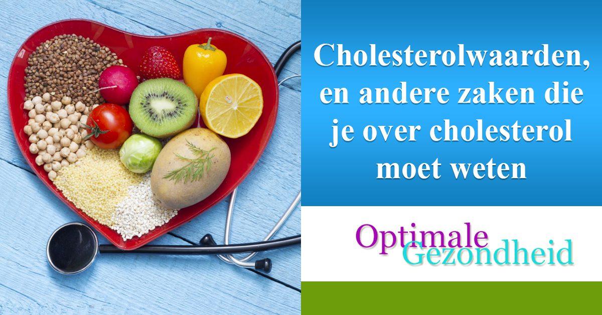 Cholesterolwaarden, en andere zaken die je over cholesterol moet weten