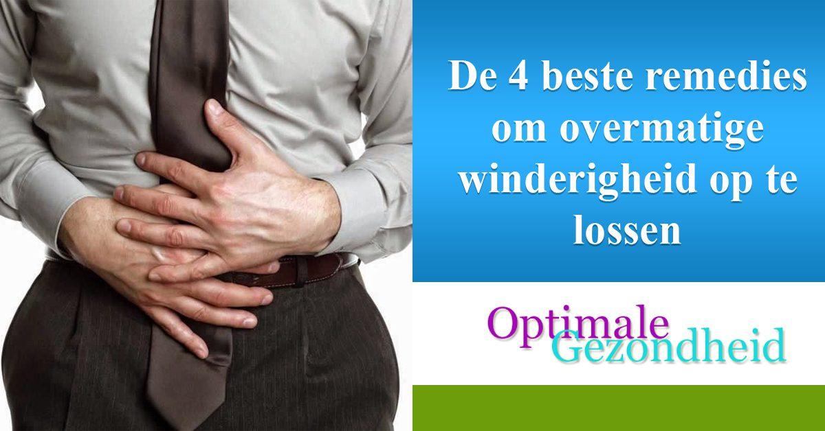 De 4 beste remedies om overmatige winderigheid op te lossen