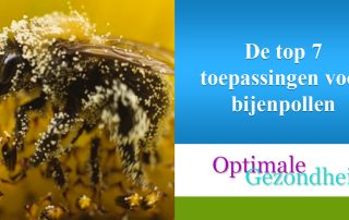 De top 7 toepassingen voor bijenpollen