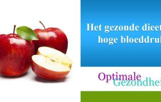 Het gezonde dieet bij hoge bloeddruk