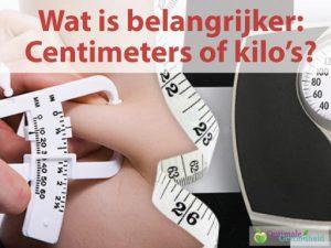 Centimeters afvallen of gewicht verliezen: Wat is nou écht belangrijker?