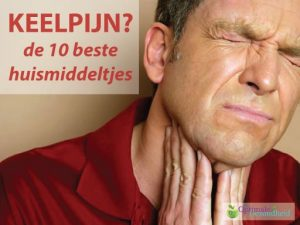 keelpijn en hoesten