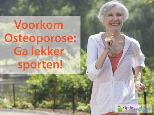 osteoporose & joggen