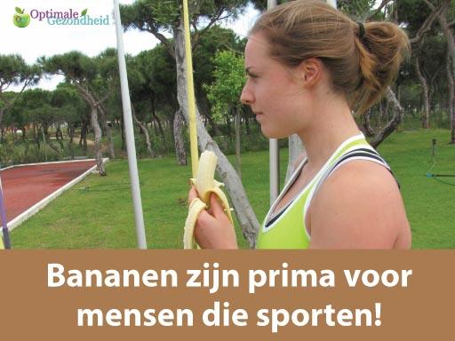 zijn bananen goed of slecht?