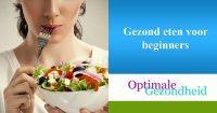 Gezond eten voor beginners