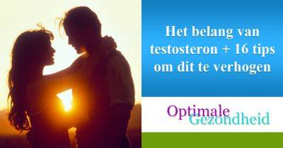 Het belang van testosteron + 16 tips om dit te verhogen