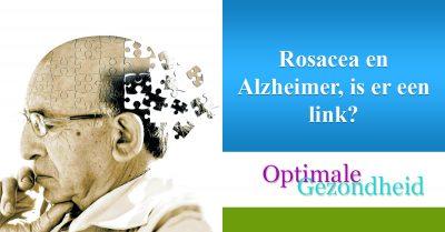 Rosacea en Alzheimer, is er een link