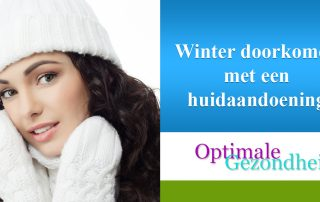 Winter doorkomen met een huidaandoening
