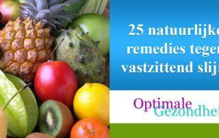 25 natuurlijke remedies tegen vastzittend slijm