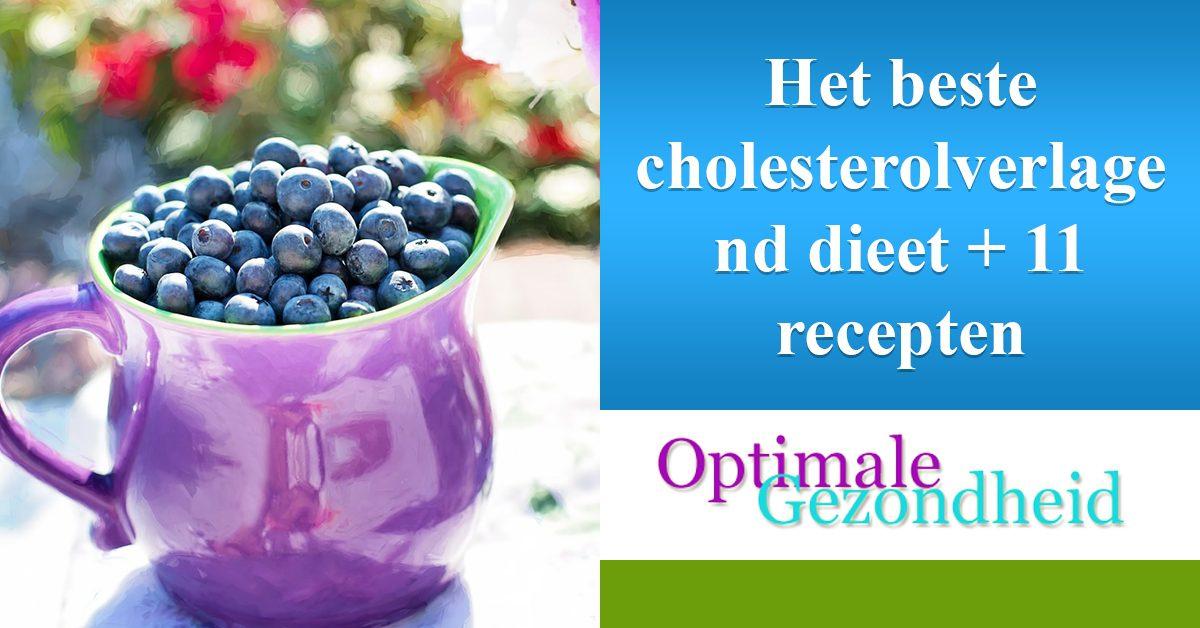 cholesterolverlagend dieet recepten