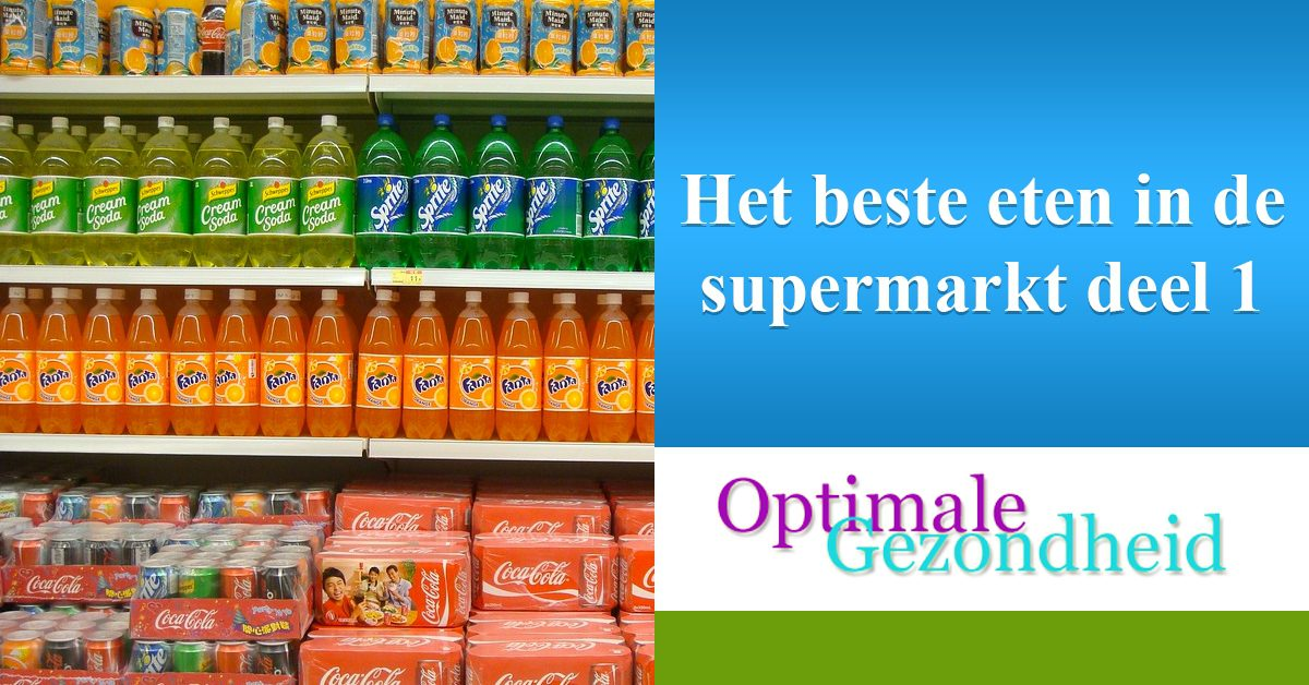 Het beste eten in de supermarkt deel 1