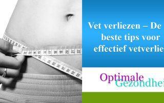 Vet verliezen – De 10 beste tips voor effectief vetverlies