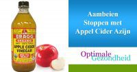 Aambeien Stoppen met Appel Cider Azijn appel cider azijn glas