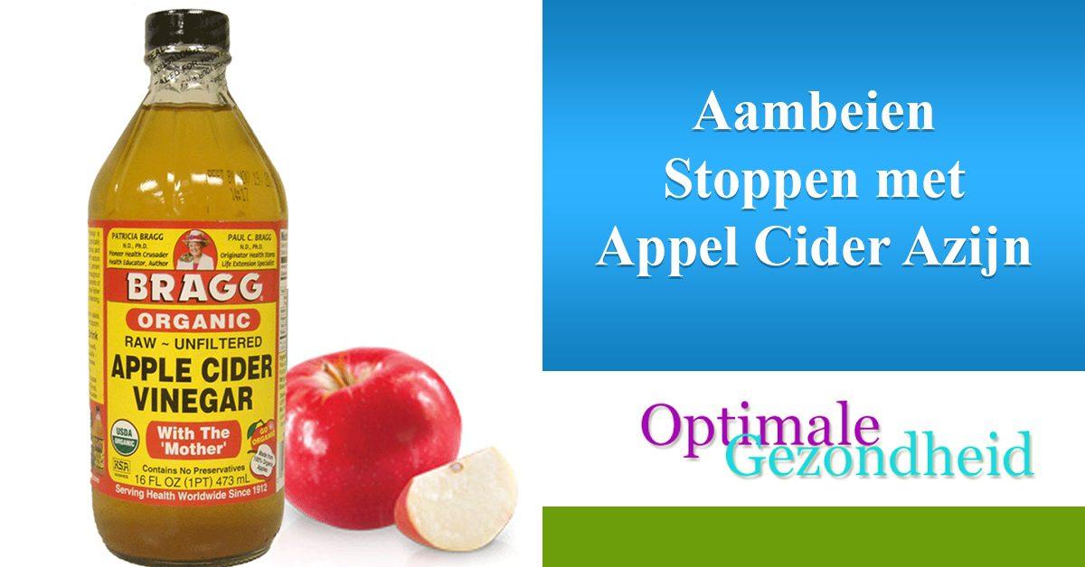 Appelciderazijn aambeien