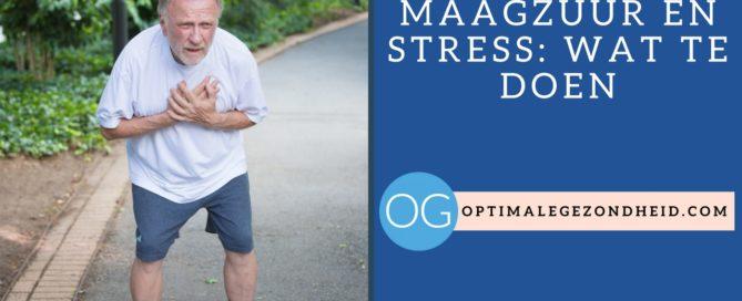 Brandend maagzuur en stress wat te doen