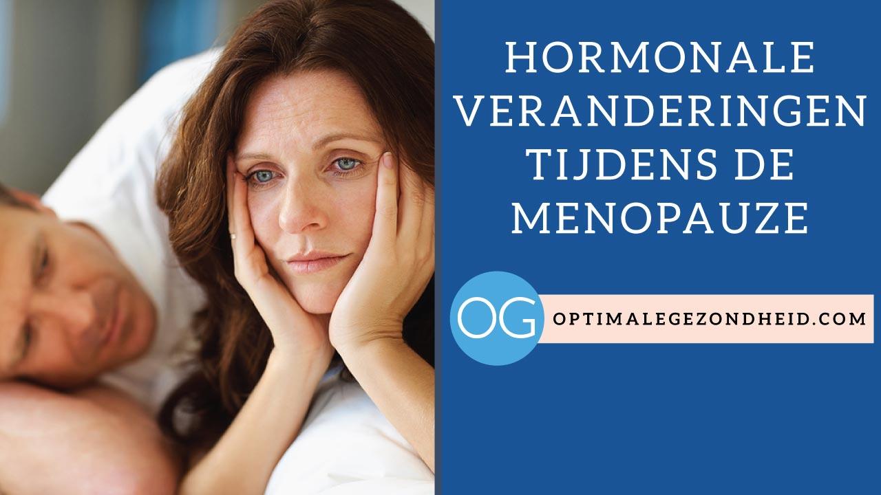 Hormonale veranderingen in de menopauze