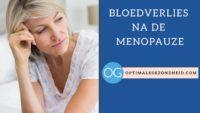 Bloedverlies na de menopauze