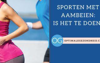 Sporten met aambeien: Is het te doen?