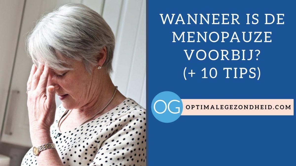 leeftijd overgang vrouw