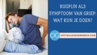 Rugpijn en griep