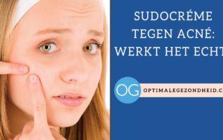Sudocréme tegen acné