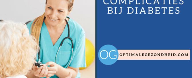 de kans op complicaties bij diabetes