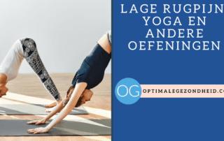 lage rugpijn yoga en andere oefeningen