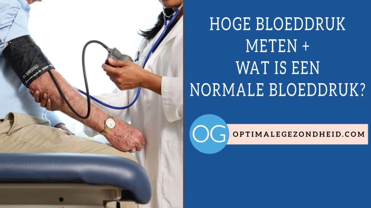 Wat Is Een Normale Bloeddruk Optimalegezondheidcom