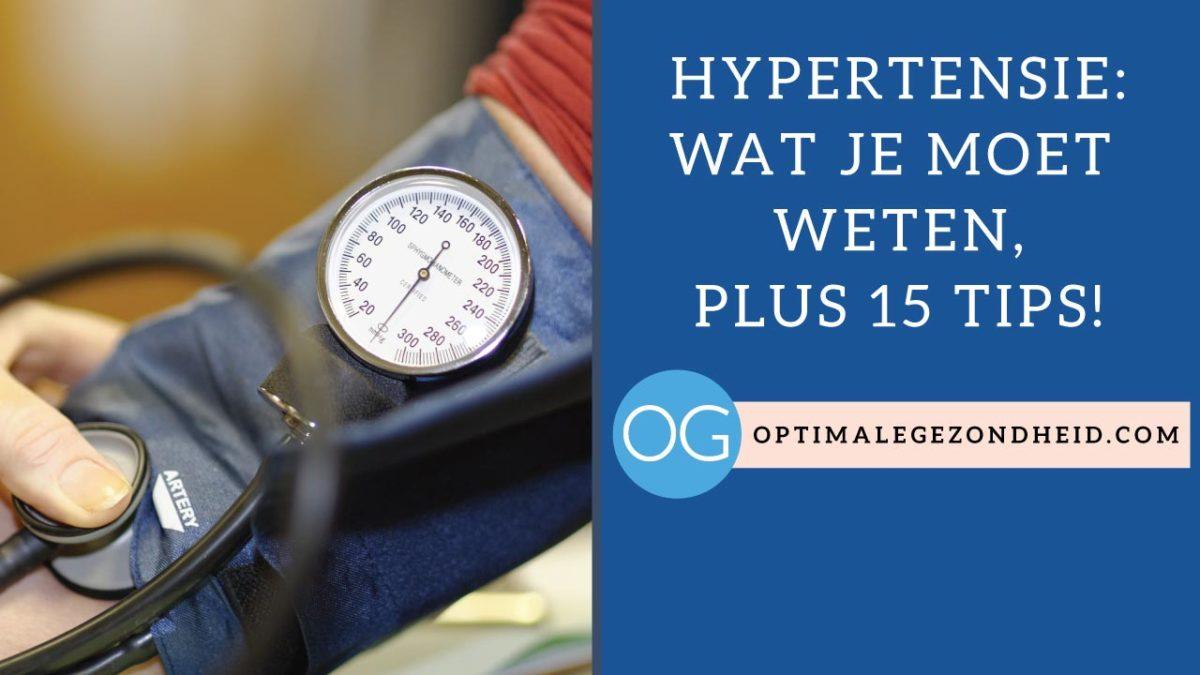 Wat je moet weten over Hypertensie