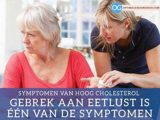Symptomen hoog cholesterol