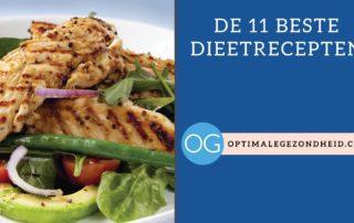 De beste 11 dieet recepten