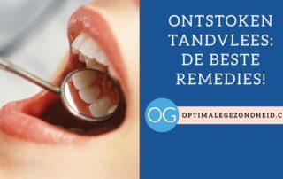 Ontstoken Tandvlees of gomziekte