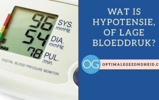 Wat is Hypotensie, of lage bloeddruk?