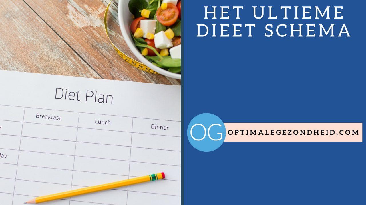 Het ultieme dieet schema