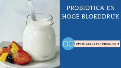 Probiotics en hoge bloeddruk