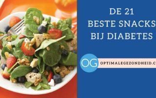 Snacks bij diabetes