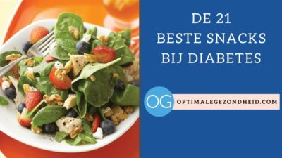 Snacks bij diabetes
