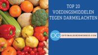 Voedingsmiddelen tegen darmklachten