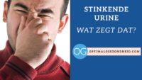 Stinkende urine: Wat zegt dat?