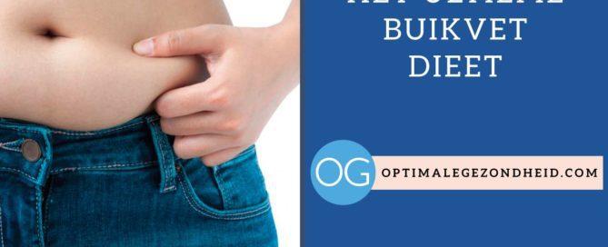 Het ultieme buikvet dieet