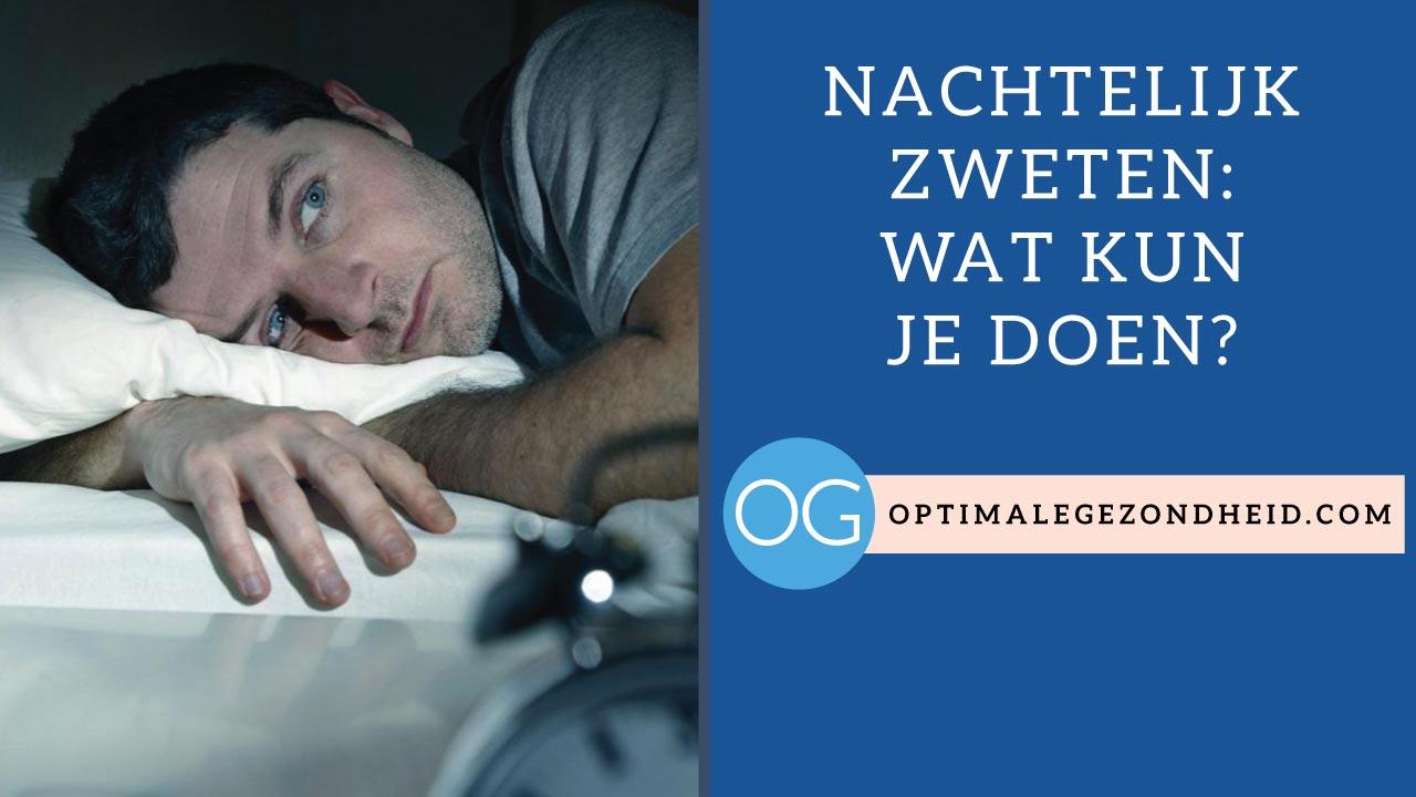 zweten tijdens slapen na zwangerschapsdiabetes