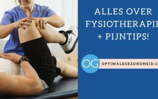 Alles over Fysiotherapie