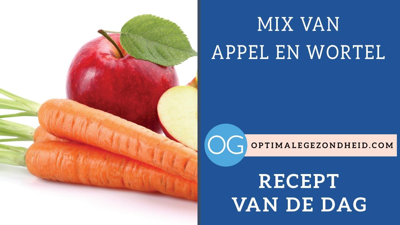 Recept van de dag: Appel-wortel mix